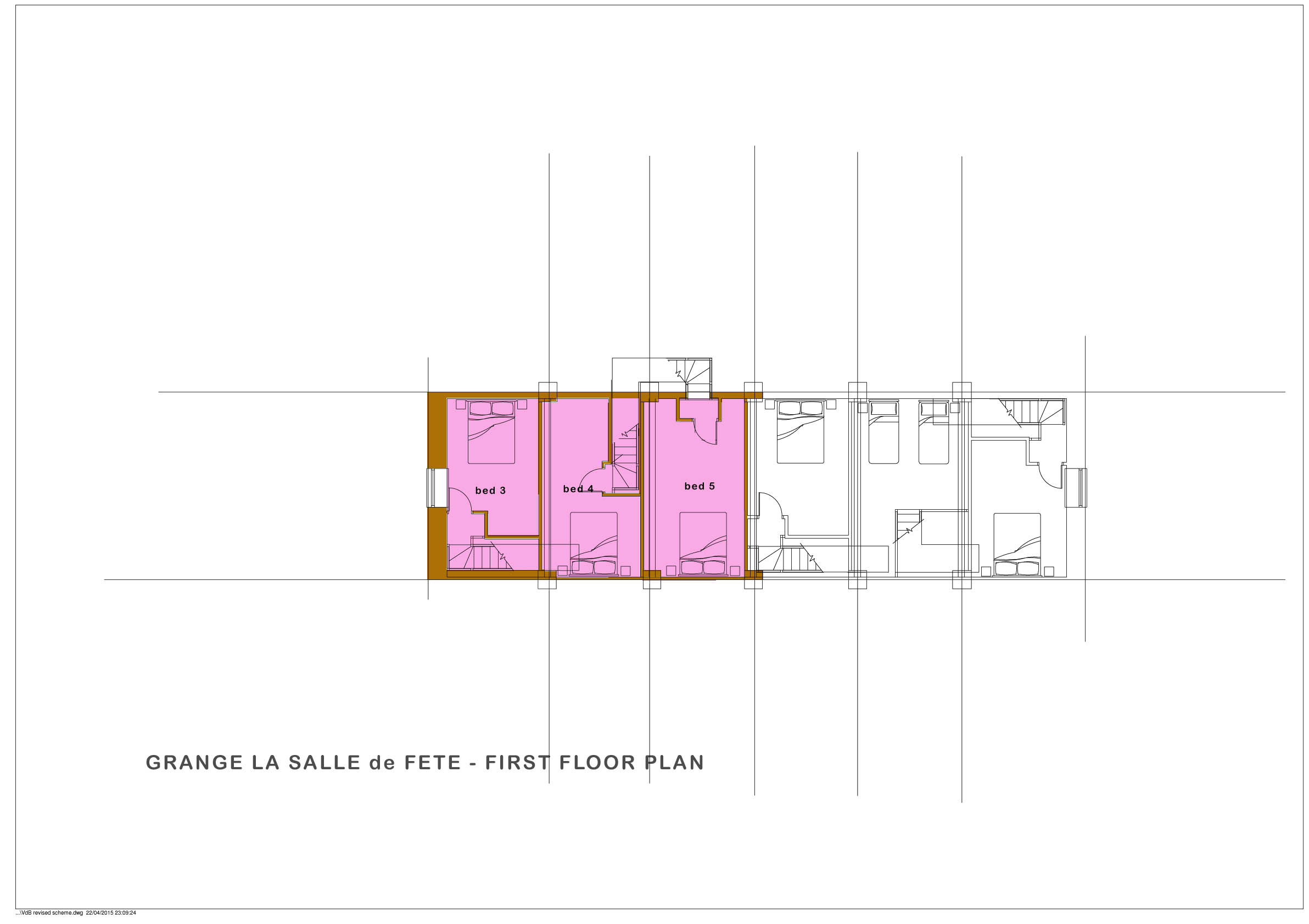 Grange La Salle de Fete  - First